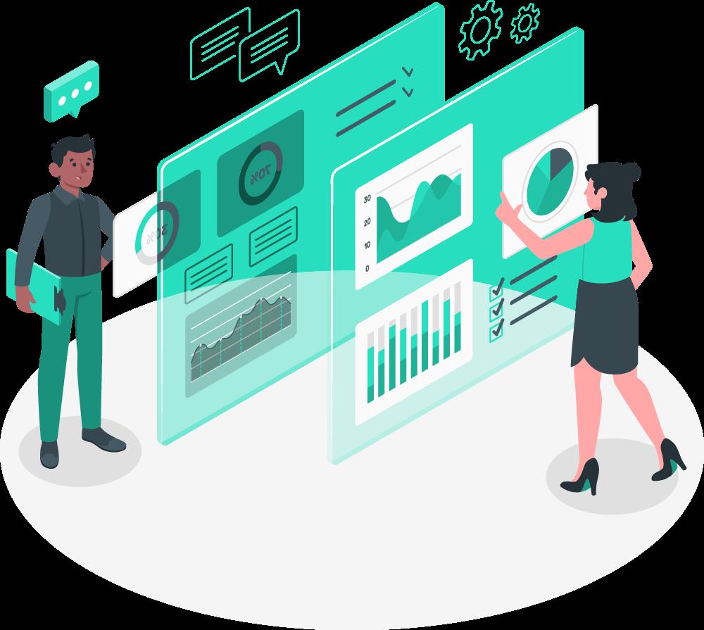 Q-edis, queue management system - Holistic reports and analytics